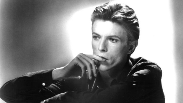 David Bowie pictured in 1976