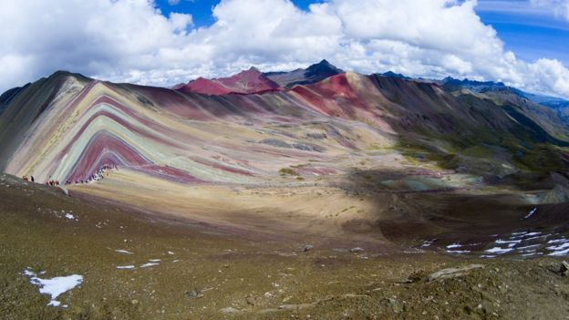 Mountain of the Seven Colors, Rainbow or Vinicunca.