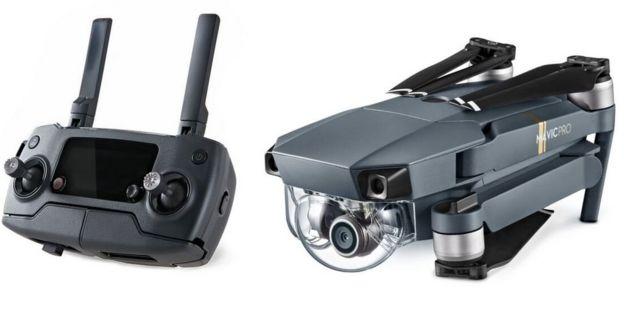 DJI's Mavic Pro fold-up drone detects obstacles - BBC News