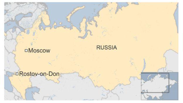Russia plane crash: Rostov-on-Don black boxes \'damaged ...