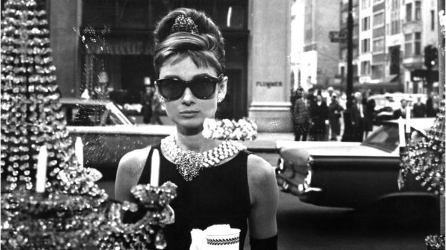 Audrey Hepburn Breakfast at Tiffany's