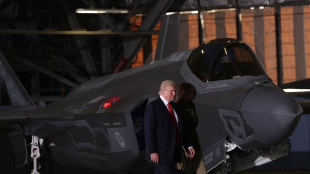 Donald Trump y el F-35