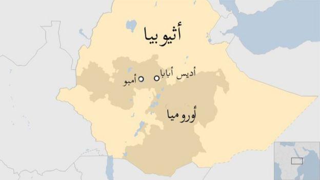 خارطة أثيوبيا