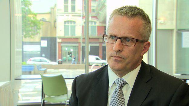 Ulster University vice-chancellor Prof Paddy Nixon