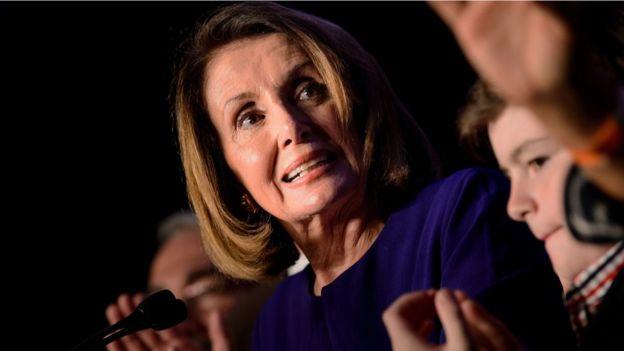 Lãnh đạo thiểu số Hạ viện Mỹ bà Nancy Pelosi trong đêm bầu cử 6/11