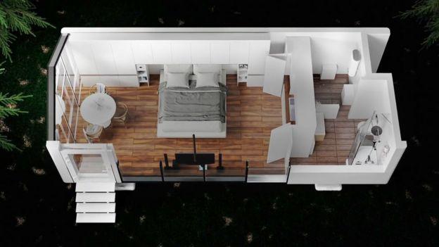 Casa fabricada pela PassivDom