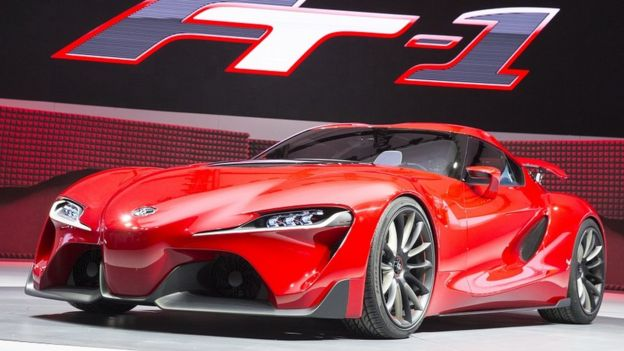 ظاهر ماشین با الهام از کانسپت FT-1 طراحی شده که در سال ۲۰۱۴ نمایش داده شده بود