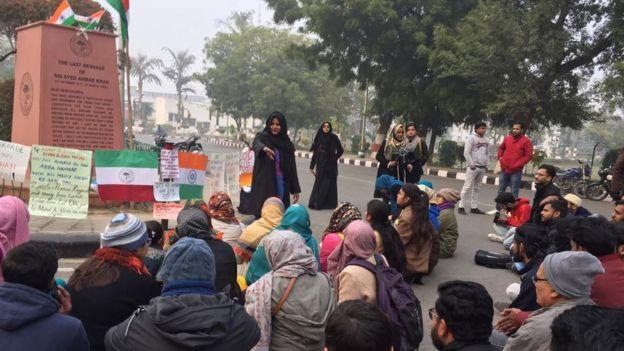 नागरिकता संशोधन कानून विरोध प्रदर्शन