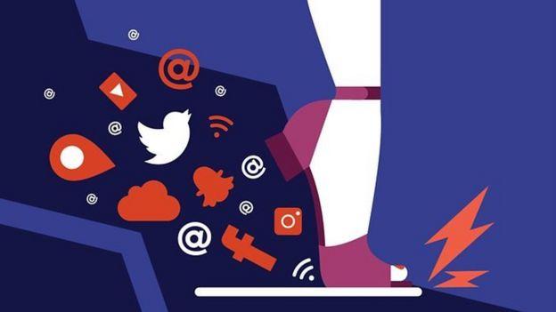 گرافیک طرح ها و علائم شبکه های اجتماعی