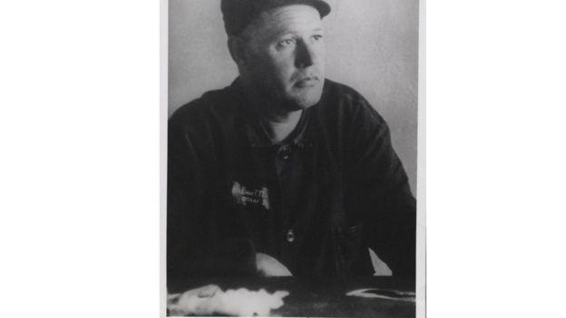 Георгий Винс в трудовом лагере в Сибире. Весна 1976 года.