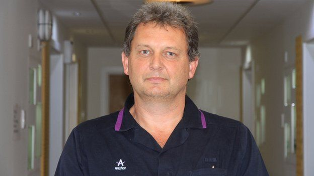 Male carer Mark Ryan
