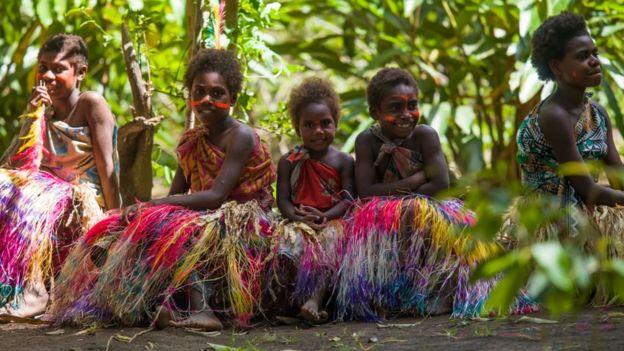 Wasichana hawa watakapokua wakubwa na kupata nafasi ya kupiga kura huenda wakafanya mamuzi yatakayobadili hatma ya baadae ya Vanuatu