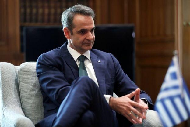 Yunanistan Başbakanı Kiryakos Miçotakis