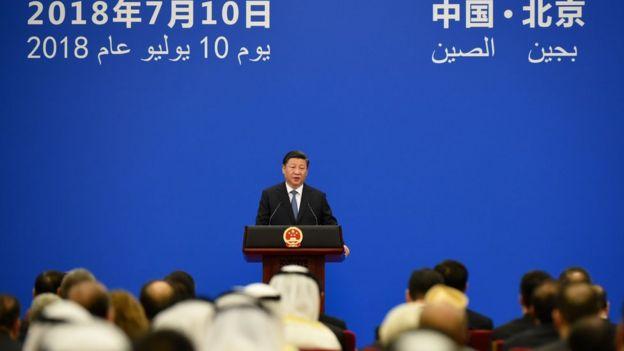 Çin Devlet Başkanı Şi Jinping konuşmasında işbirliğini vurguladı.