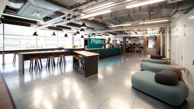 la oficina de Londres pivotal