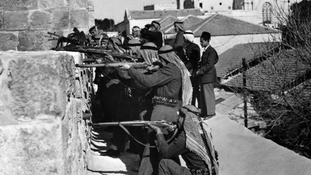 Soldados da Liga Árabe na Guerra de 1947-1948