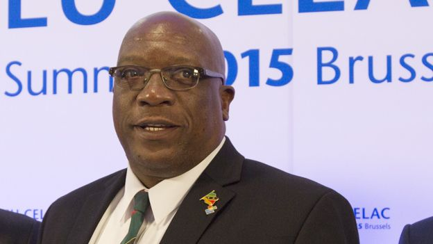 St Kitts and Nevis Prime Minister Timothy Harris