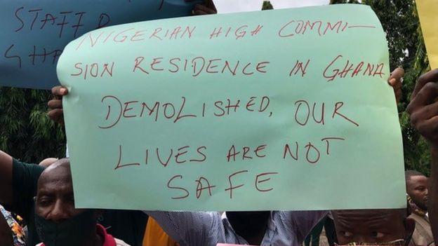 Nigeria Embassy Demolition: Ghana Apologises To Nigeria