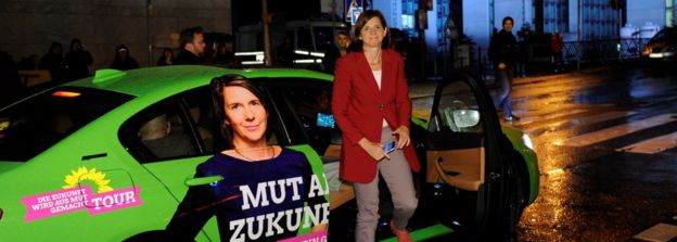 Катрин Гёринг-Эккардт, одна из лидеров