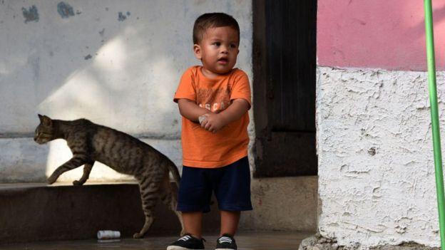 Bebé hondureño