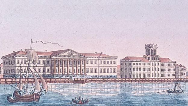 San Petersburgo en el siglo XIX