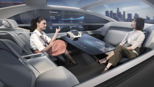 Carro autônomo da Volvo