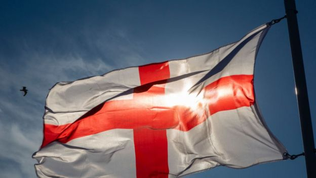 Bandera inglesa.