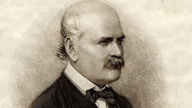 Retrato de Ignaz Semmelweis