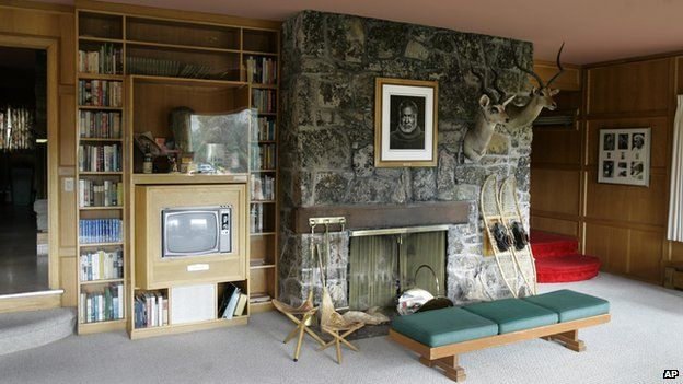 Lounge in Ernest Hemingway's house