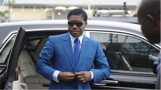 Teodorin Nguema Obiang est considéré comme le dauphin de son père.