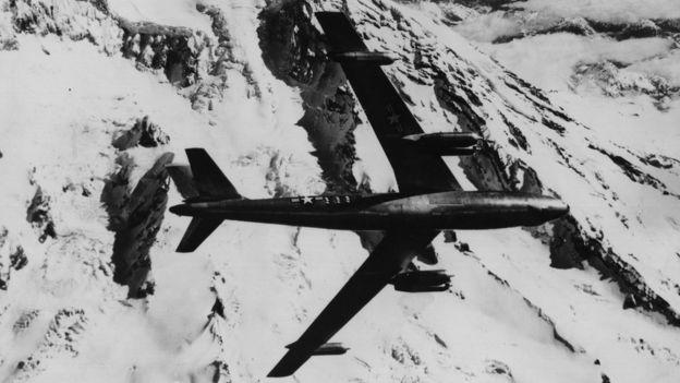 Bombardero B-47 de la Fuerza Aérea de Estados Unidos