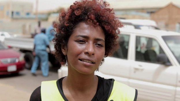 Amateur cycliste, Fatima ElGabani espère voir les choses changer notamment pour les femmes