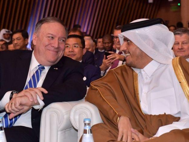 ABD ve Katar Dışişleri Bakanları