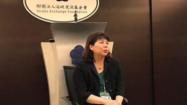 台灣海基會發言人李麗珍表示,張向忠隨旅行團來台脫逃,情況較特殊。