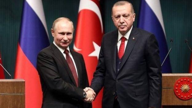 Putin y Erdogan