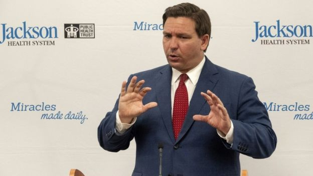 El gobernador de Florida