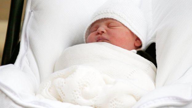 El nuevo bebé de la familia real británica