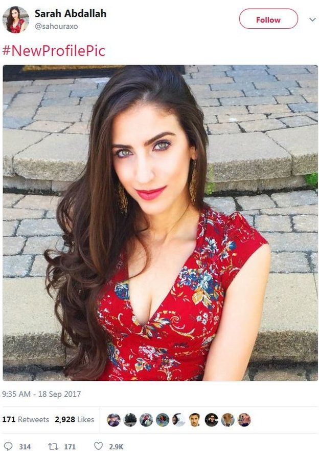 Sarah Abdallah is one of the most influential Twitter users commenting on conversations about the conflict in Syria, although little is known about the person behind the account