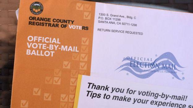 No todos los estados permiten alternativas al sufragio presencial como el voto por correo.