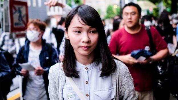 Nhà hoạt động Agnes Chow
