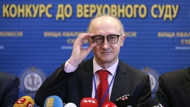 Голова Вищої кваліфікаційної комісії суддів Сергій Козьяков відповідав за остаточні рішення під час конкурсу