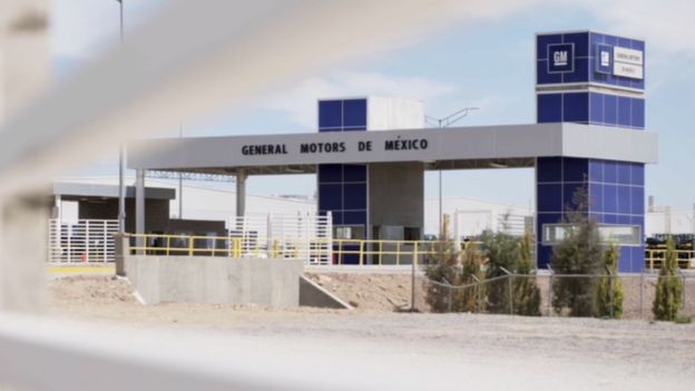Fábrica da GM em San Luis Potosi