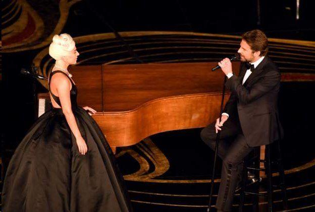 اجرای دونفره لیدی گاگا و بردلی کوپر در مراسم اسکار