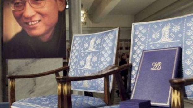 2010年诺贝尔和平奖评委会将当年度诺贝尔和平奖授予刘晓波,令中国极为不满