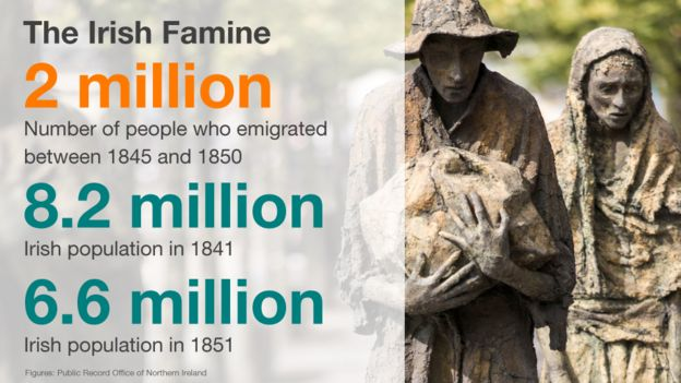 effects of the potato famine in ireland