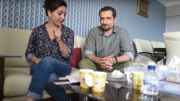 شهرزاد میرقلیخان و رضا گلپور