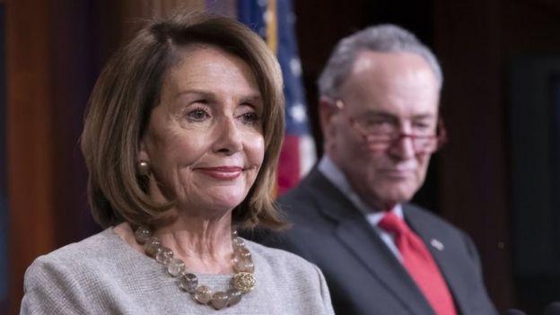 Nancy Pelosi y Chuck Schumer