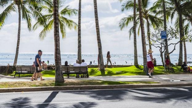 Calles de Honolulu