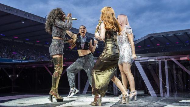 Spice Girls in Edinburgh
