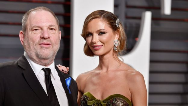 Harvey Weinstein and wife Georgina Chapman